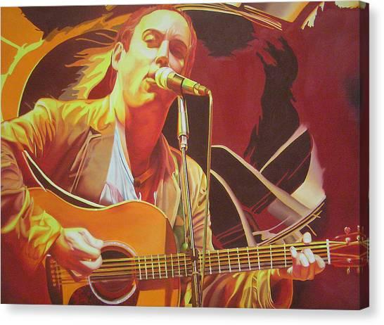 Dave Matthews At Vegoose Canvas Print
