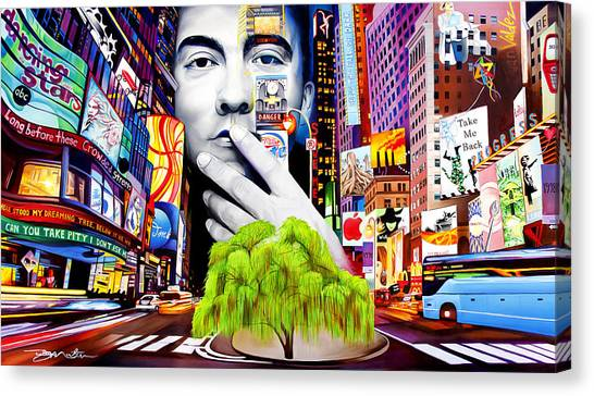Bands Canvas Print - Dave Matthews Dreaming Tree by Joshua Morton