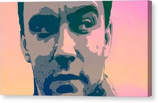 Singing Canvas Print - Dave Matthews Portrait Poster by Dan Sproul