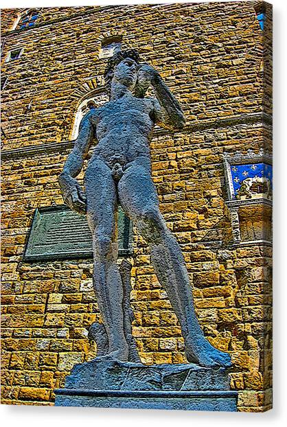 The Uffizi Gallery Canvas Print - David by Andy Za