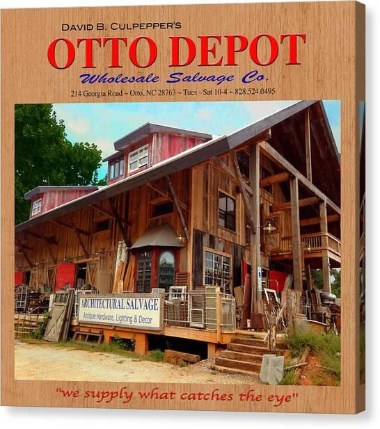 David B. Culpepper's Otto Depot 2 Canvas Print