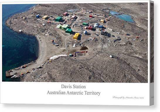 Davis Station 2012 Canvas Print by David Barringhaus