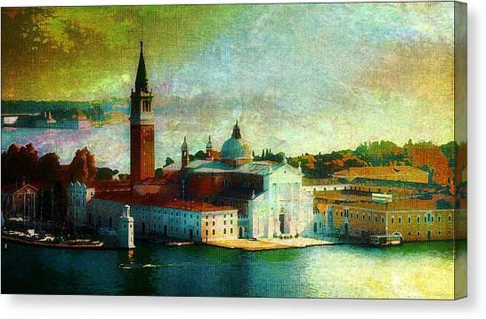 Dawn San Giorgio Maggiore Canvas Print