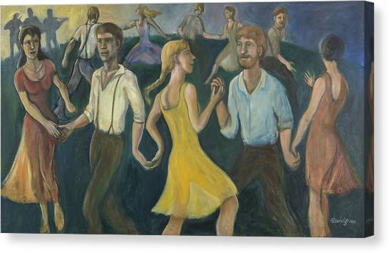 Dawn Dance Canvas Print