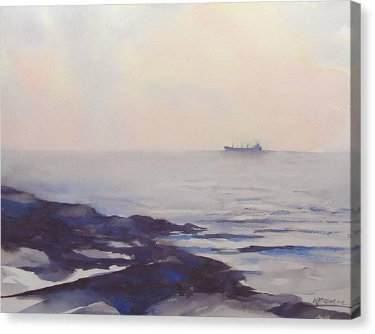 Dawn Departure Canvas Print