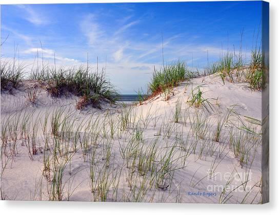 Dawn Dunes Canvas Print