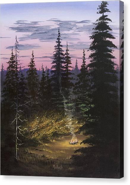 Dawn Fire Canvas Print