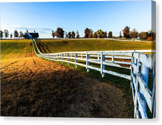 Dawn In Kentucky Canvas Print