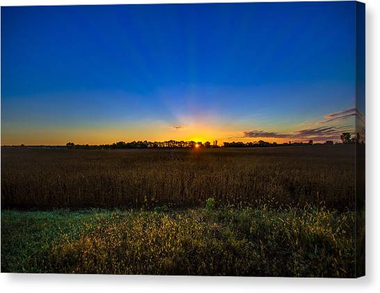 Dawn Of A New Day Canvas Print