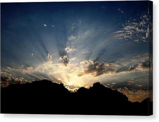 Dawn Of Hope Canvas Print by Wings  Mok