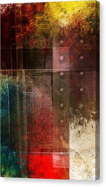 Dawn Of Industry Canvas Print
