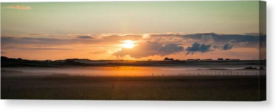 Dawn On Tiree Canvas Print