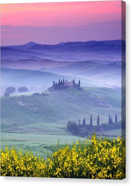 Dawn Over Belvedere Canvas Print