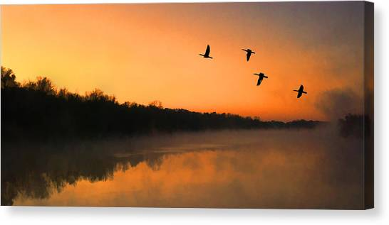 Dawn Patrol Canvas Print