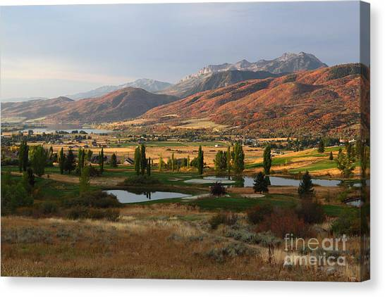 Dawn's Early Light Canvas Print