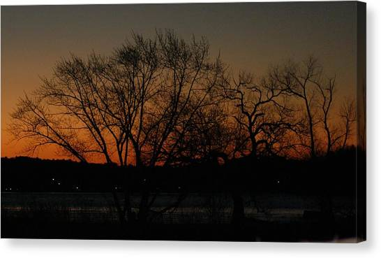 Dawns Early Light Canvas Print