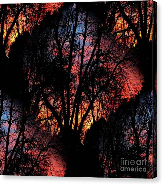 Sunrise - Dawn's Early Light Canvas Print