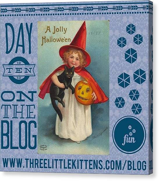 Holidays Canvas Print - #day10 #ontheblog #today A Cute Little by Teresa Mucha