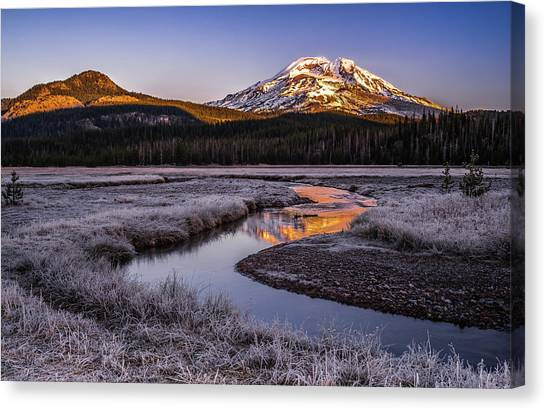 Sister Canvas Print - Daybreak by Andreas Agazzi