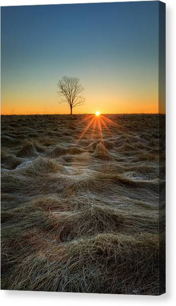 Sunrise Canvas Print - Daybreak by Bill Wakeley