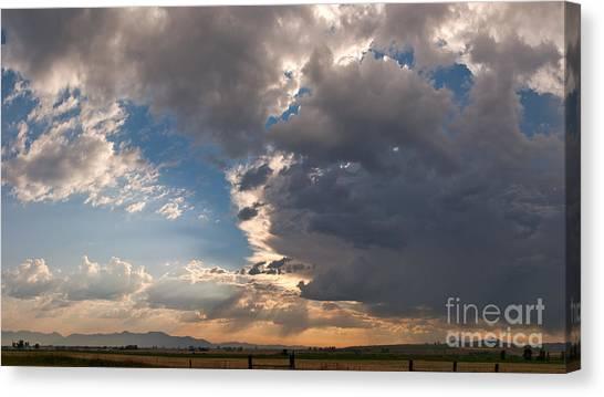 Daybreak Panorama Canvas Print