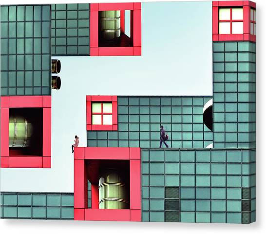 Tetris Canvas Print - Daydream by Koji Tajima