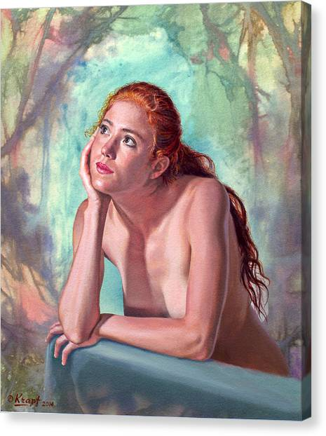Background Canvas Print - Daydreaming by Paul Krapf