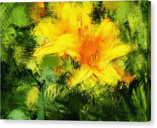 Dayliles Canvas Print