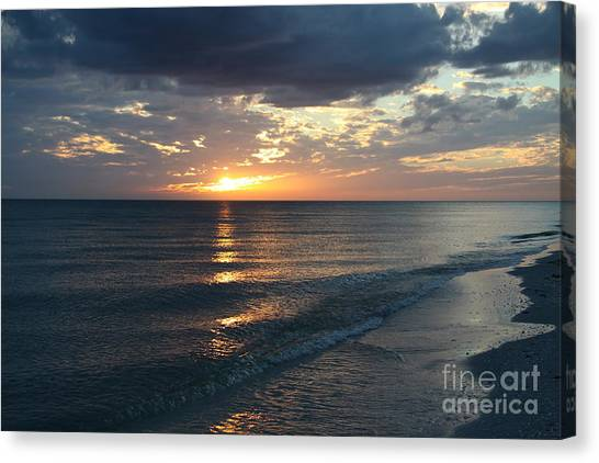 Canvas Print - Days End Over Sanibel Island by Christiane Schulze Art And Photography