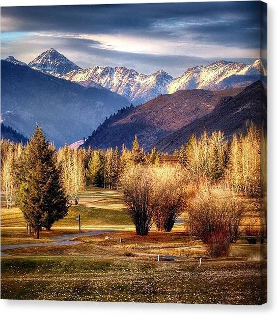 Idaho Canvas Print - Days Like This Remind Me Why I Am So by Cody Haskell