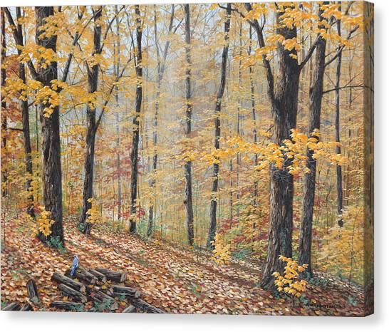 Days Of Autumn Canvas Print