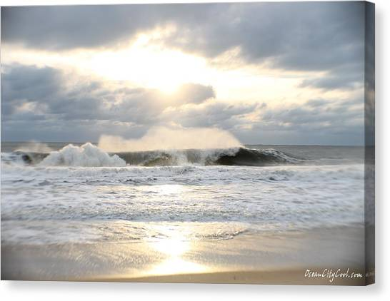 Day's Rolling Waves Canvas Print