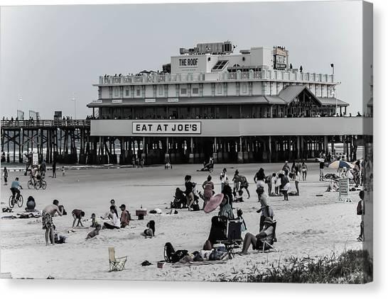 Daytona Beach Pier Canvas Print