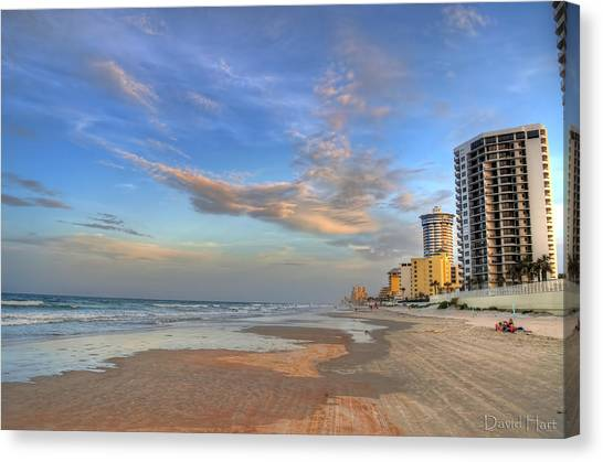Daytona Beach Shores Canvas Print