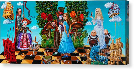 Daze Of Alice Canvas Print