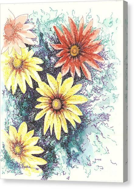 Dazzeled Canvas Print by Brian Edward Harris