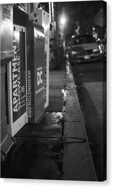 Dc News Canvas Print by Michael Williams