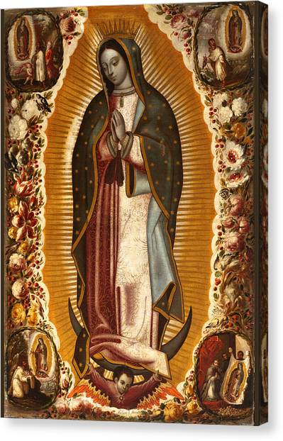 de Arellano Virgin Canvas Print