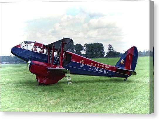 De Havilland Dragon Rapide Canvas Print