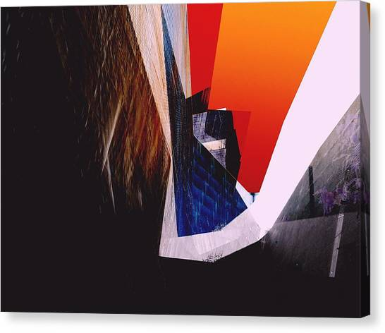 De Young Museum Meta Canvas Print by Michael Hope