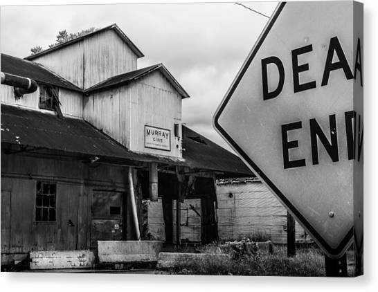 Gin Canvas Print - Dead End by Jon Woodhams