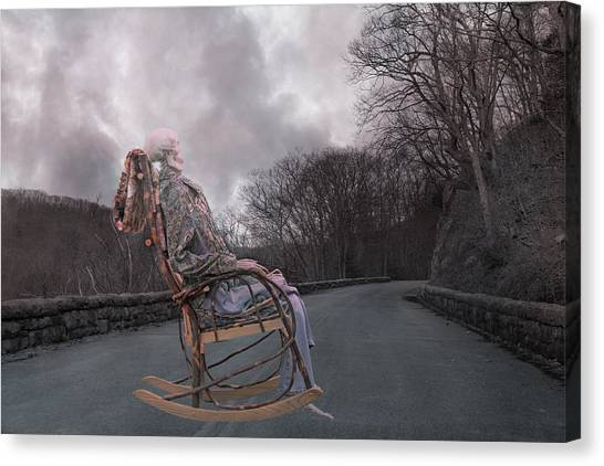 Karma Canvas Print - Dead Man's Curve by Betsy Knapp