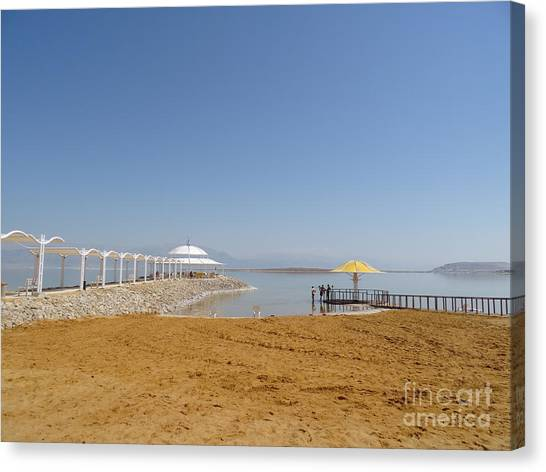 Dead Sea 1 Canvas Print