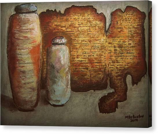 Dead Sea Scrolls Canvas Print