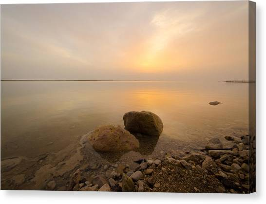 Dead Sea Sunrise Canvas Print