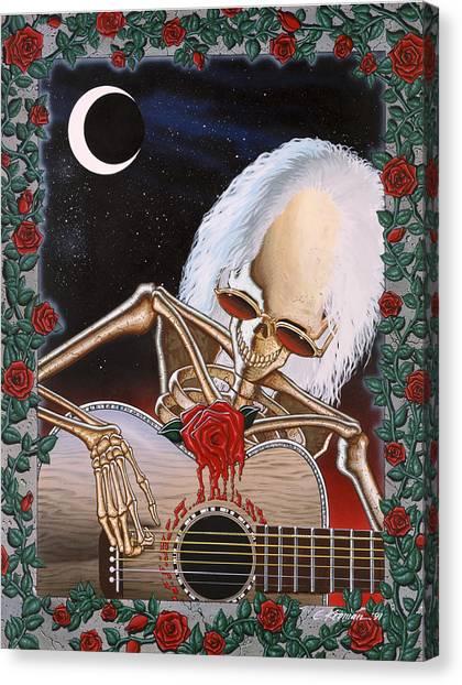 Grateful Dead Canvas Print - Dead Serenade by Gary Kroman