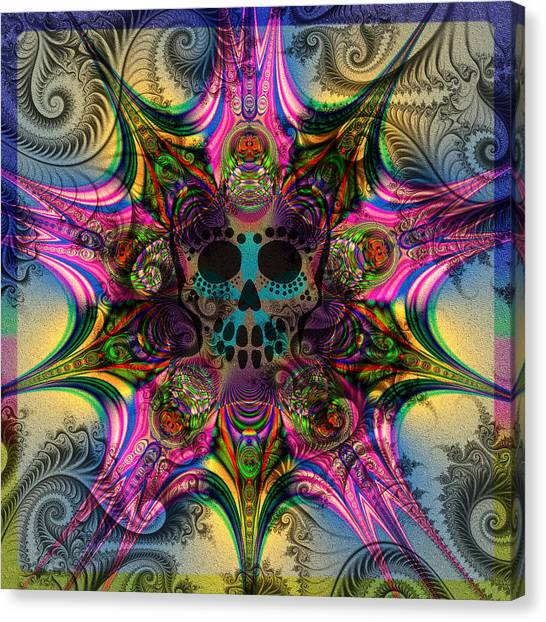 Dead Star Canvas Print