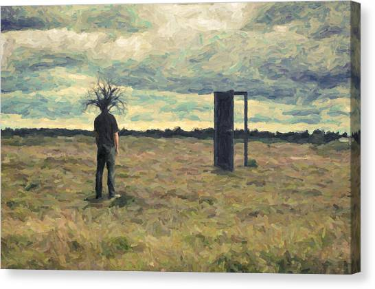 Dada Art Canvas Print - Dead Zone by Zapista