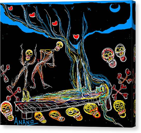 Deadly Dream Canvas Print by Anand Swaroop Manchiraju