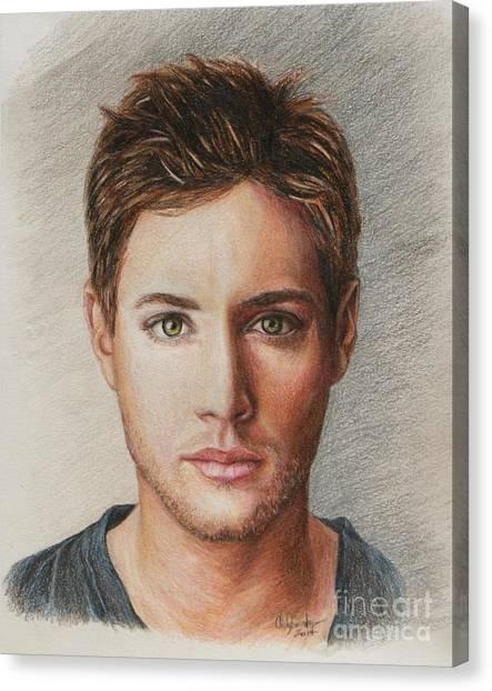 Dean Winchester / Jensen Ackles Canvas Print